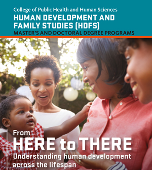 HDFS Graduate Program insert