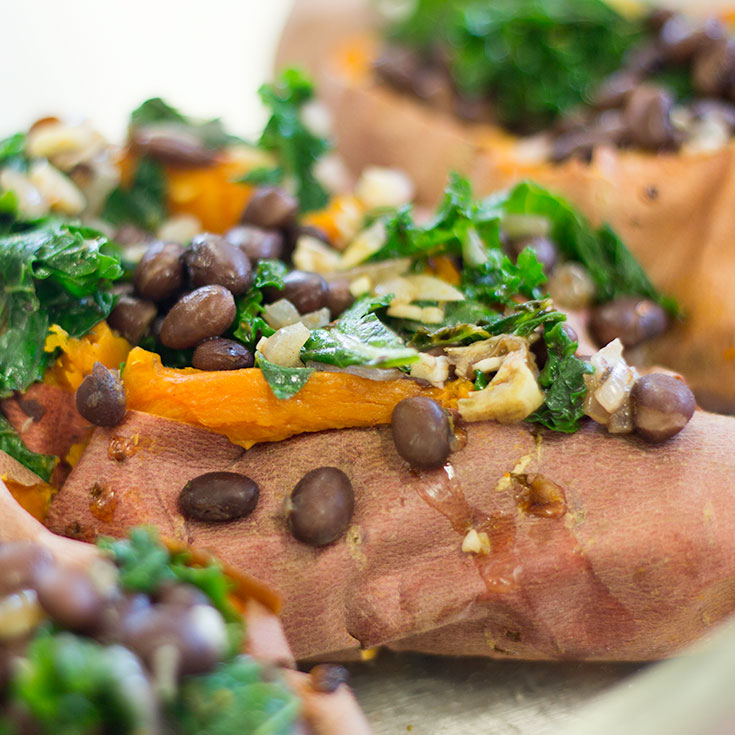 Beaver Believer Baked Sweet Potatoes | GridIron Chef Contest