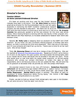 Summer 2016 | Newsletter | Center for Healthy Aging Research