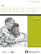 Cover image of The Gerontologist