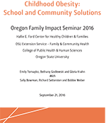 Whitepaper - Childhood Obesity: School and Community Solutions