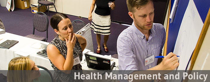 Health Management and Policy graduate program