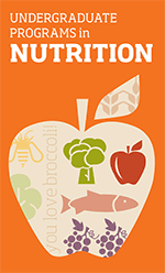 Download Brochure | Undergraduate Programs in Nutrition