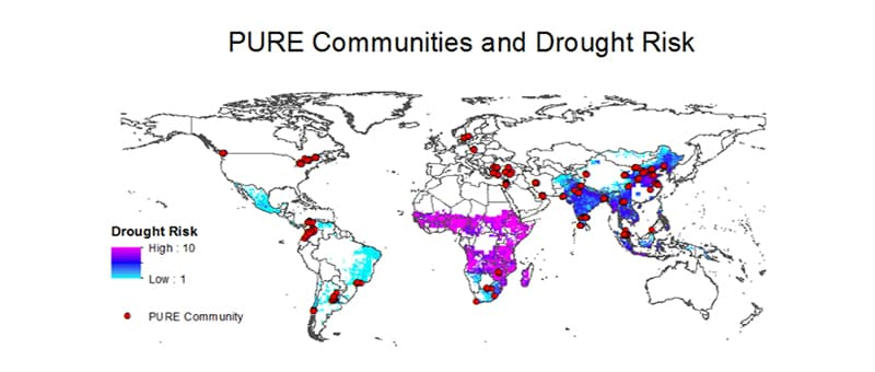 PURE AIR Communities and Drought Risk