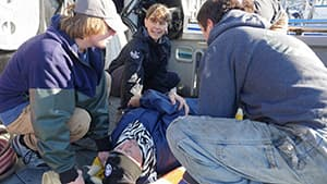 first aid fishing