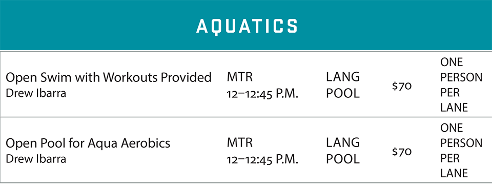fsf schedule summer 2020 aquatics