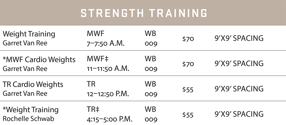 fsf schedule summer 2020 strength
