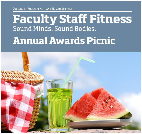 2016 Flyer | Awards picnic | Faculty Staff Fitness