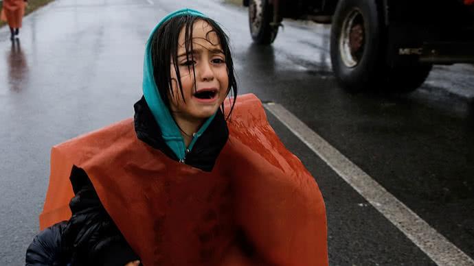 Global refugee child