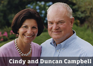 Cindy and Duncan Campbell
