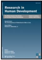 Cover of Research in Human Development