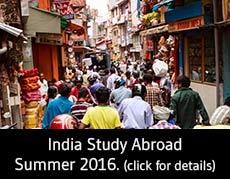 Study abroad Bangalore, India summer 2016