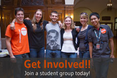Join a student group today!