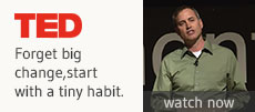 TED talk - Start with a tiny habit