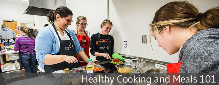 Healthy Cooking and Meals 101