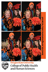 commencement reception photo booth 2017