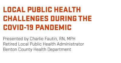 Research seminar: Charlie Fautin, RN, MPH