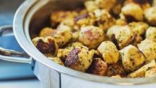 Smokey Yam Meatballs